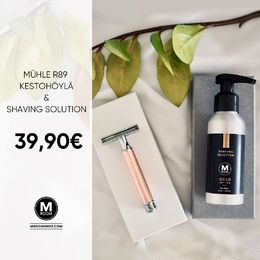 Mühle R89 & M Room Shaving Solution