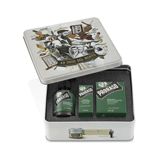 Proraso refreshing beard kit
