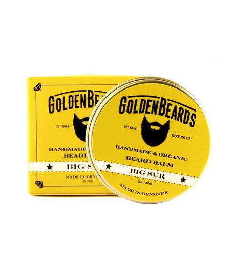 Golden Beards Big Sur - beard balm - 30ml