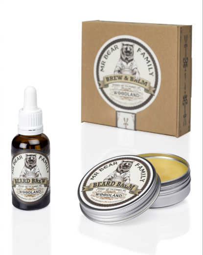 Mr Bear Brew & Balm Woodland