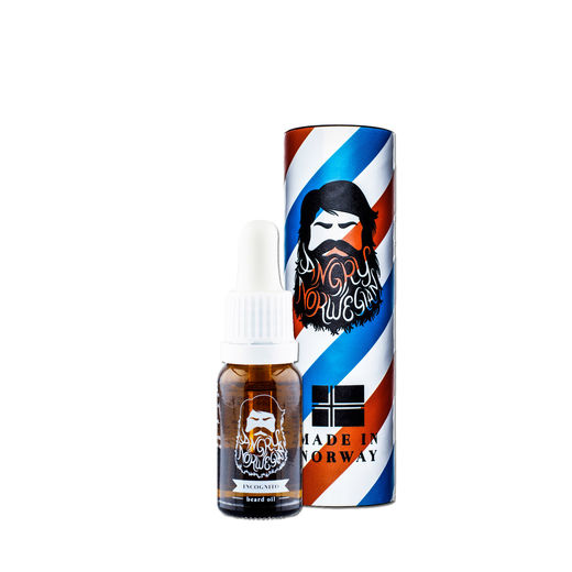 Angry Norwegian INCOGNITO beard oil - 10ml