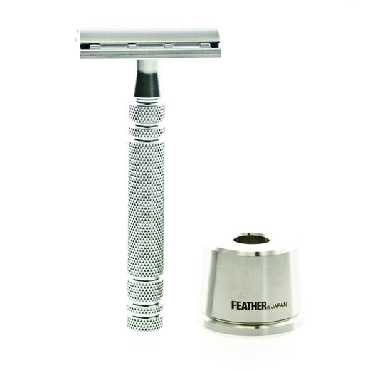 Feather DE razor ja razor stand - AS-D2S