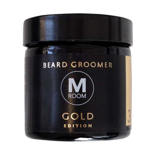 Classic Gold Beard Groomer - beard balm
