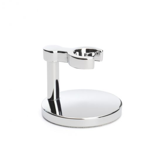 Mühle razor stand, chromed metallic