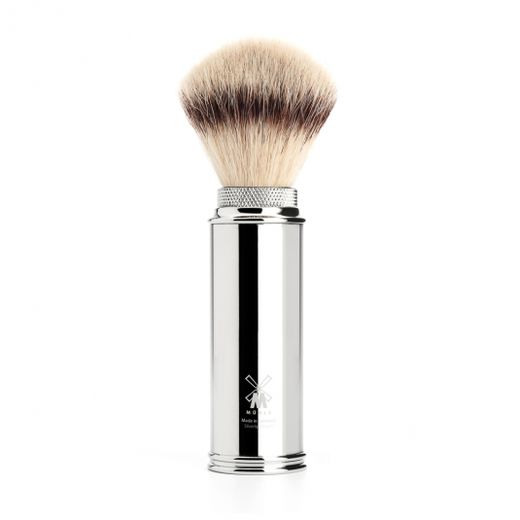 Mühle synthetic silvertip travel brush