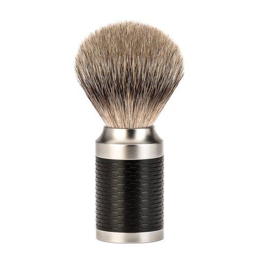 Mühle ROCCA silvertip brush, black